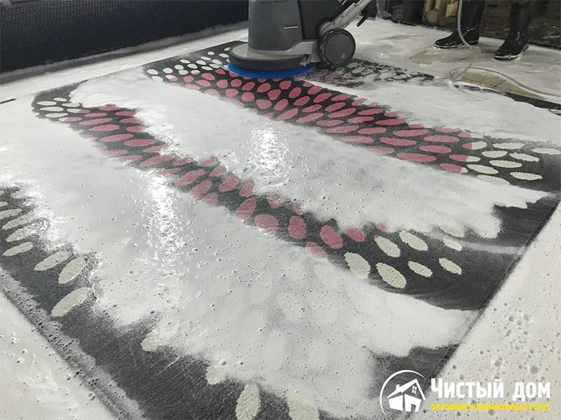 After-Стирка ковров на профессиональном оборудовании