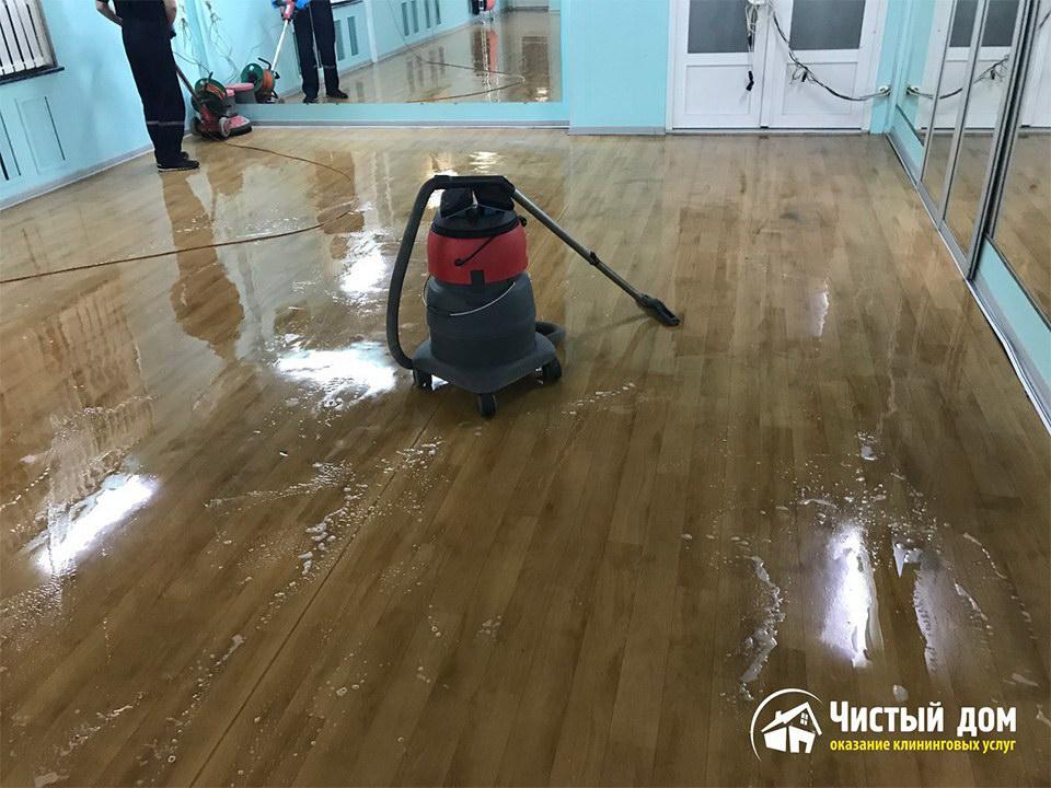 Before-Как мы чистим полы